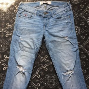 Hollister Ripped Jeans Cropped skinny fit